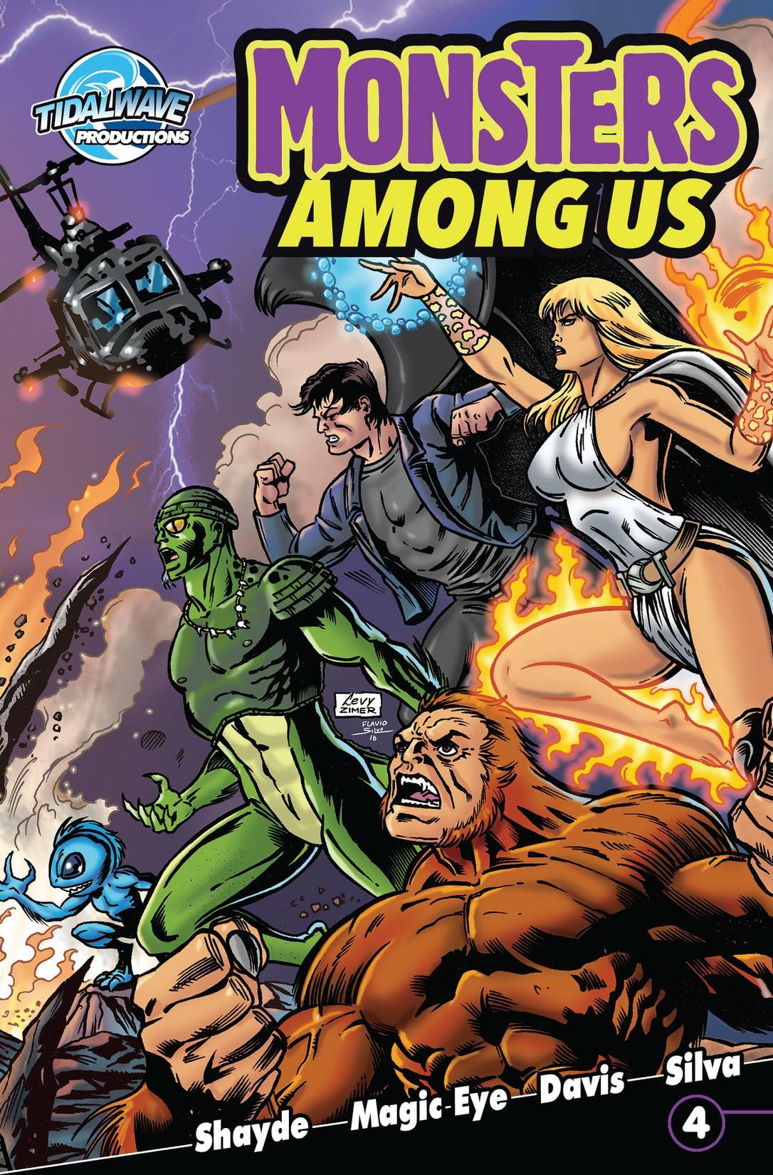 Monsters Among Us #4