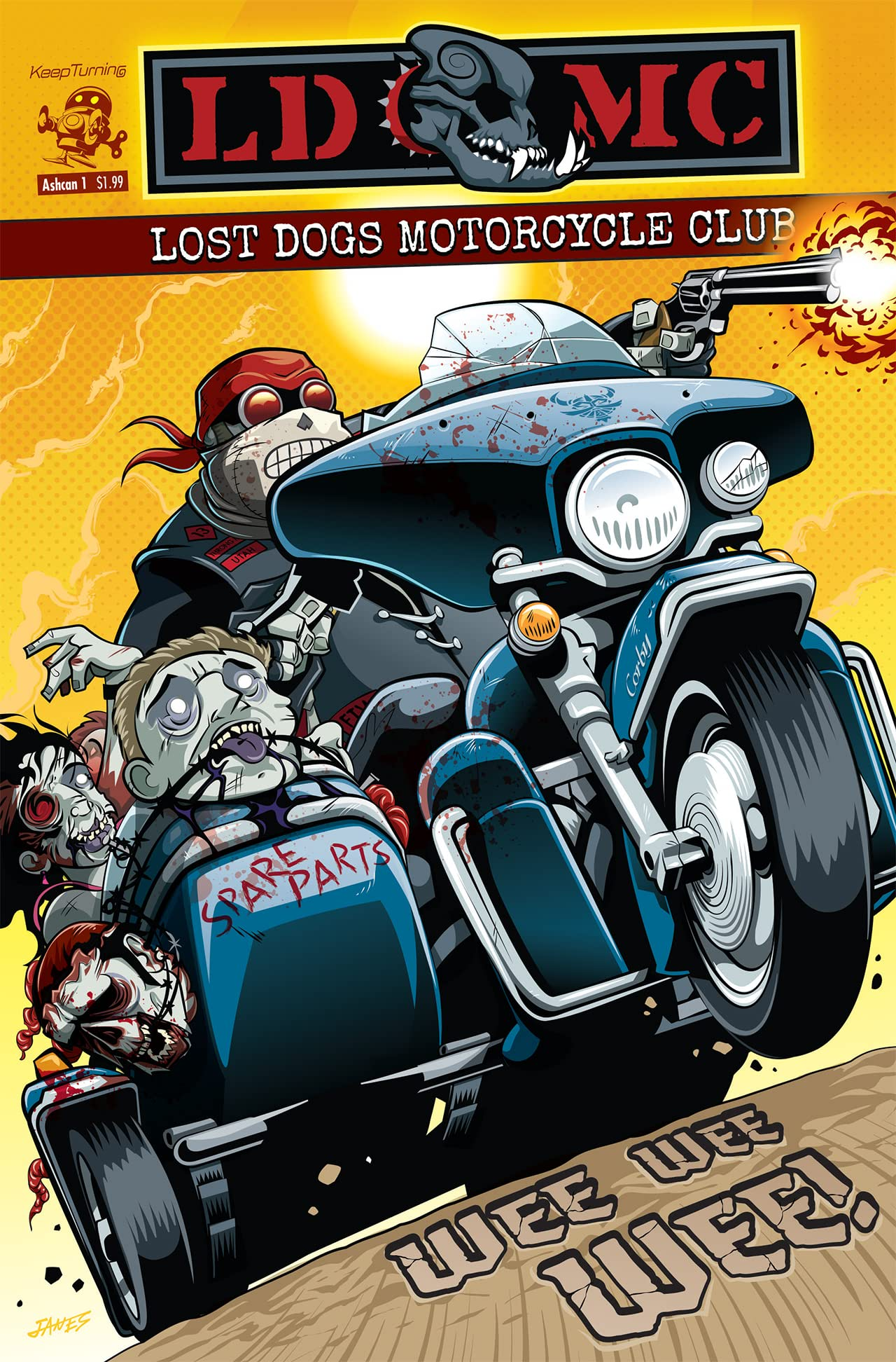 Lost Dogs MC Ashcan #1
