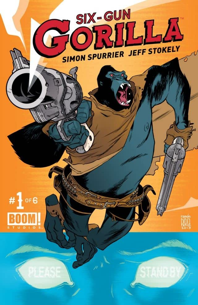 Six Gun Gorilla #1 (of 6)