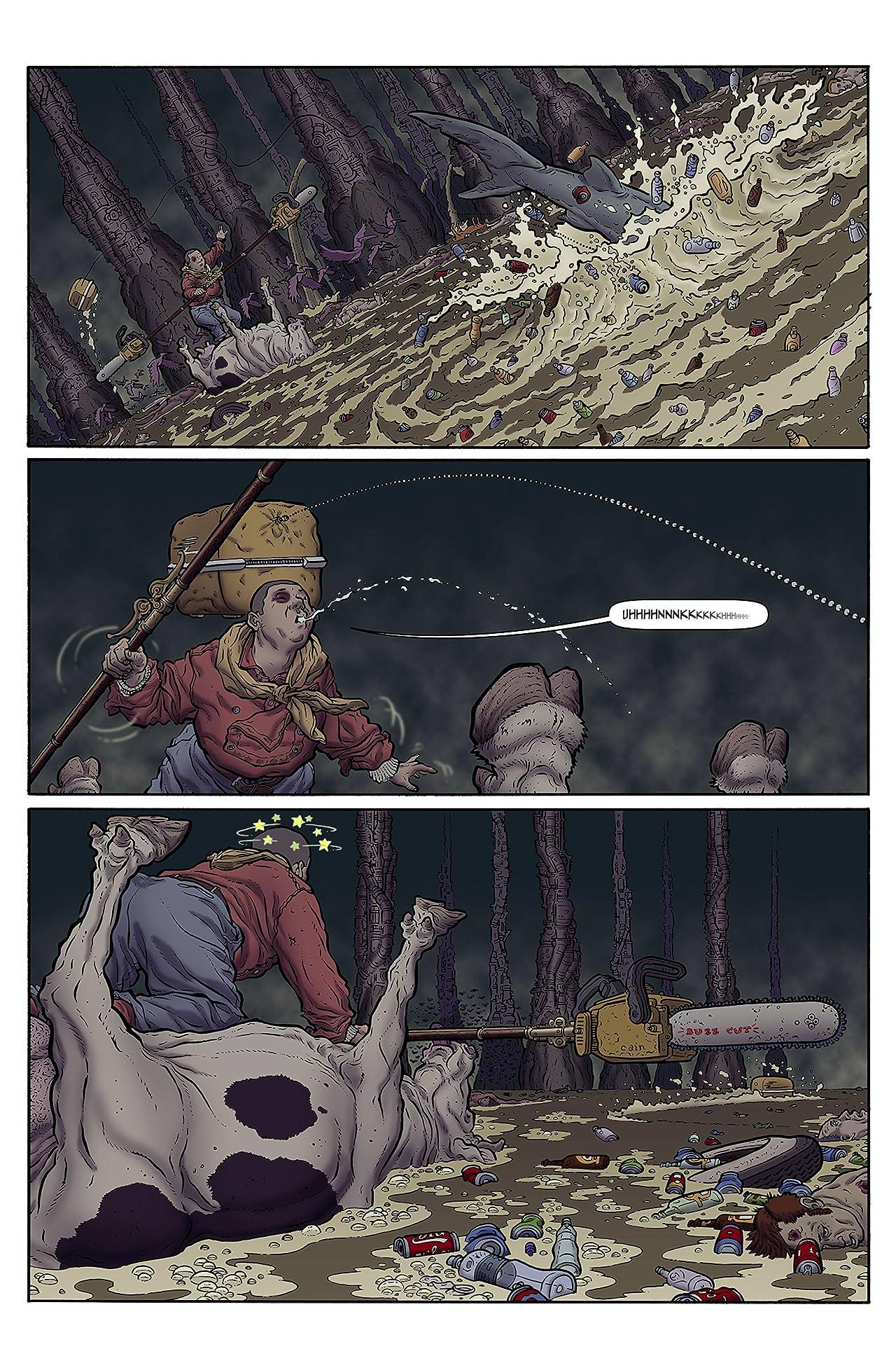 The Shaolin Cowboy #6