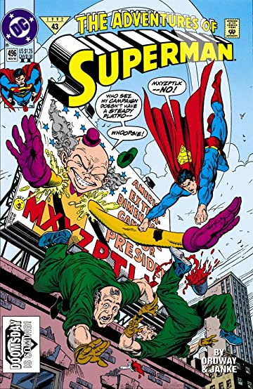 Adventures of Superman (1986-2006) #496