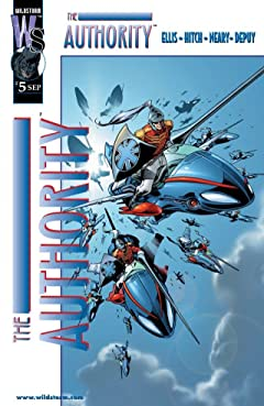 The Authority (1999-2002) #5