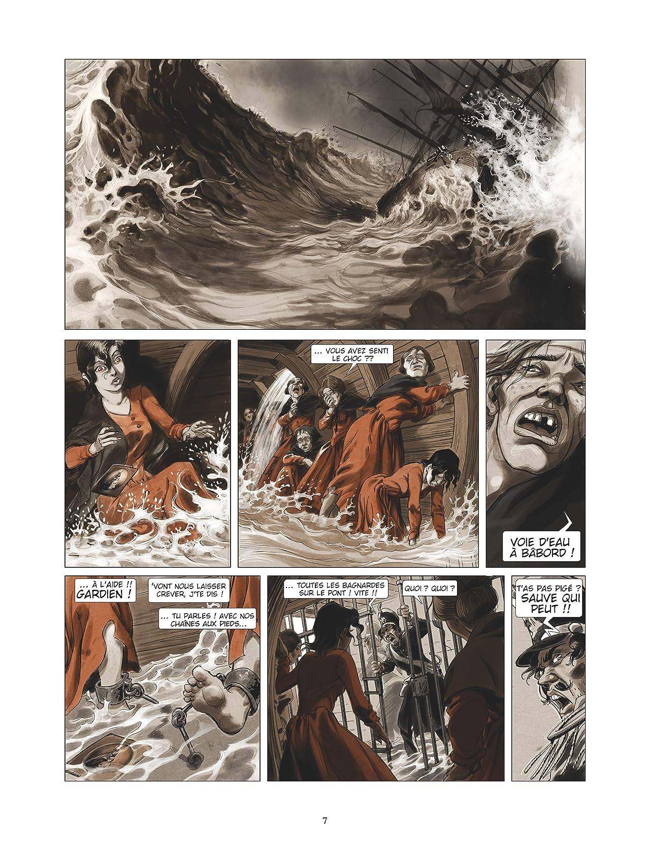 Sambre Vol. 6: La mer vue du purgatoire….