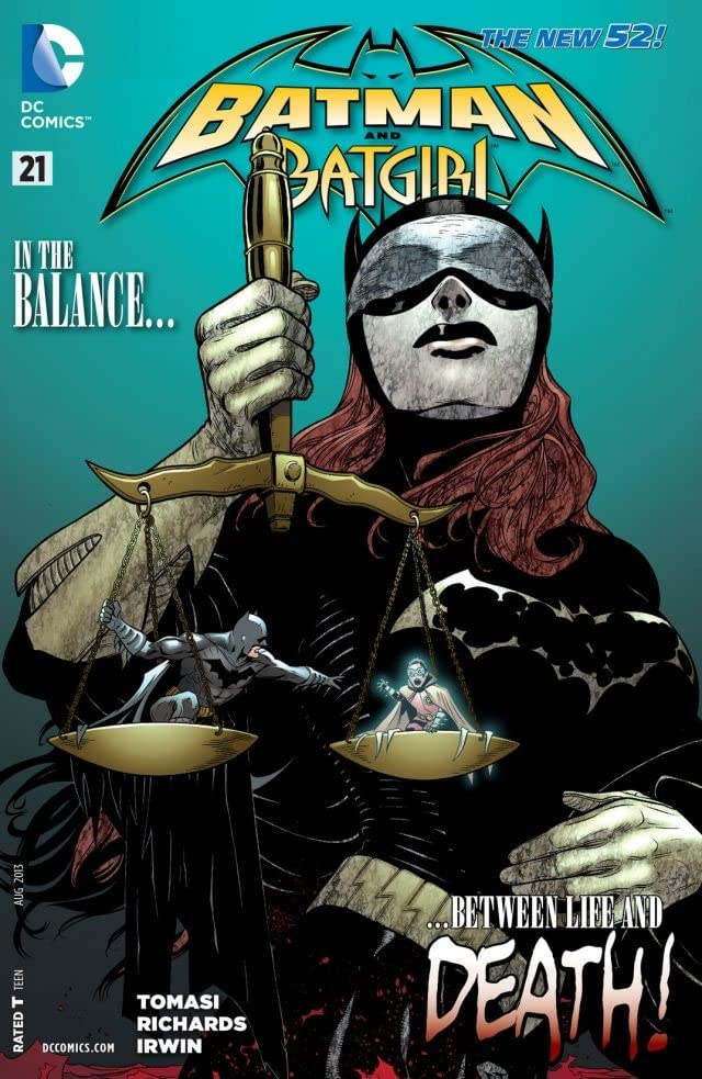 Batman and Robin (2011-2015) #21: Batgirl