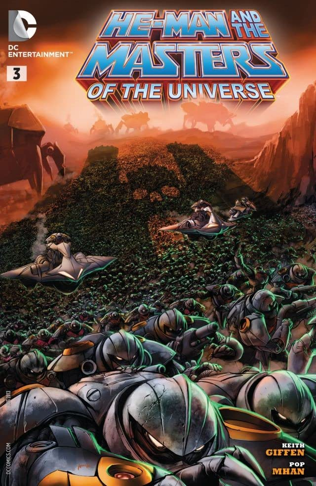 He-Man and the Masters of the Universe (2013-) #3