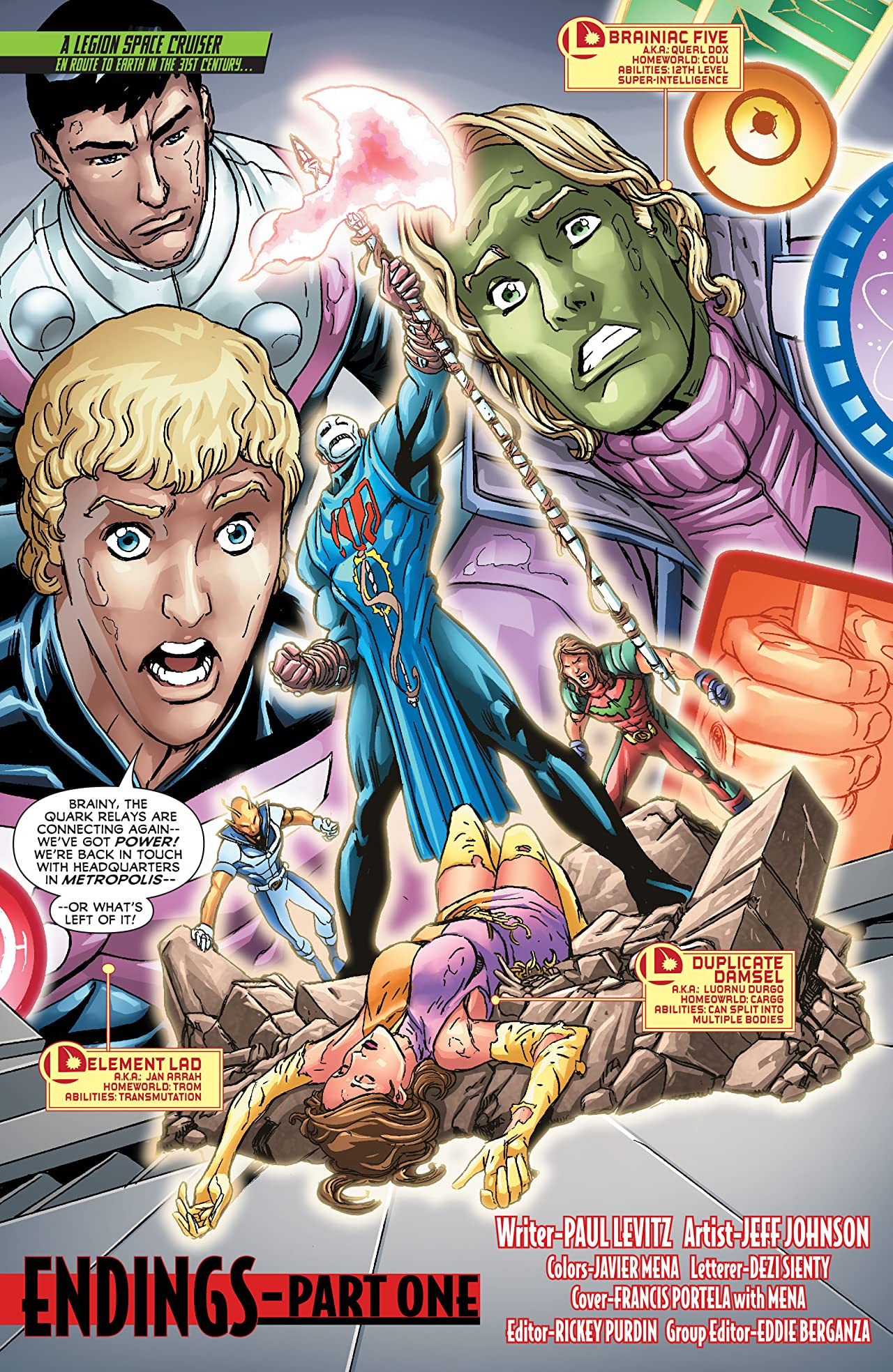 Legion of Super-Heroes (2011-2013) #21