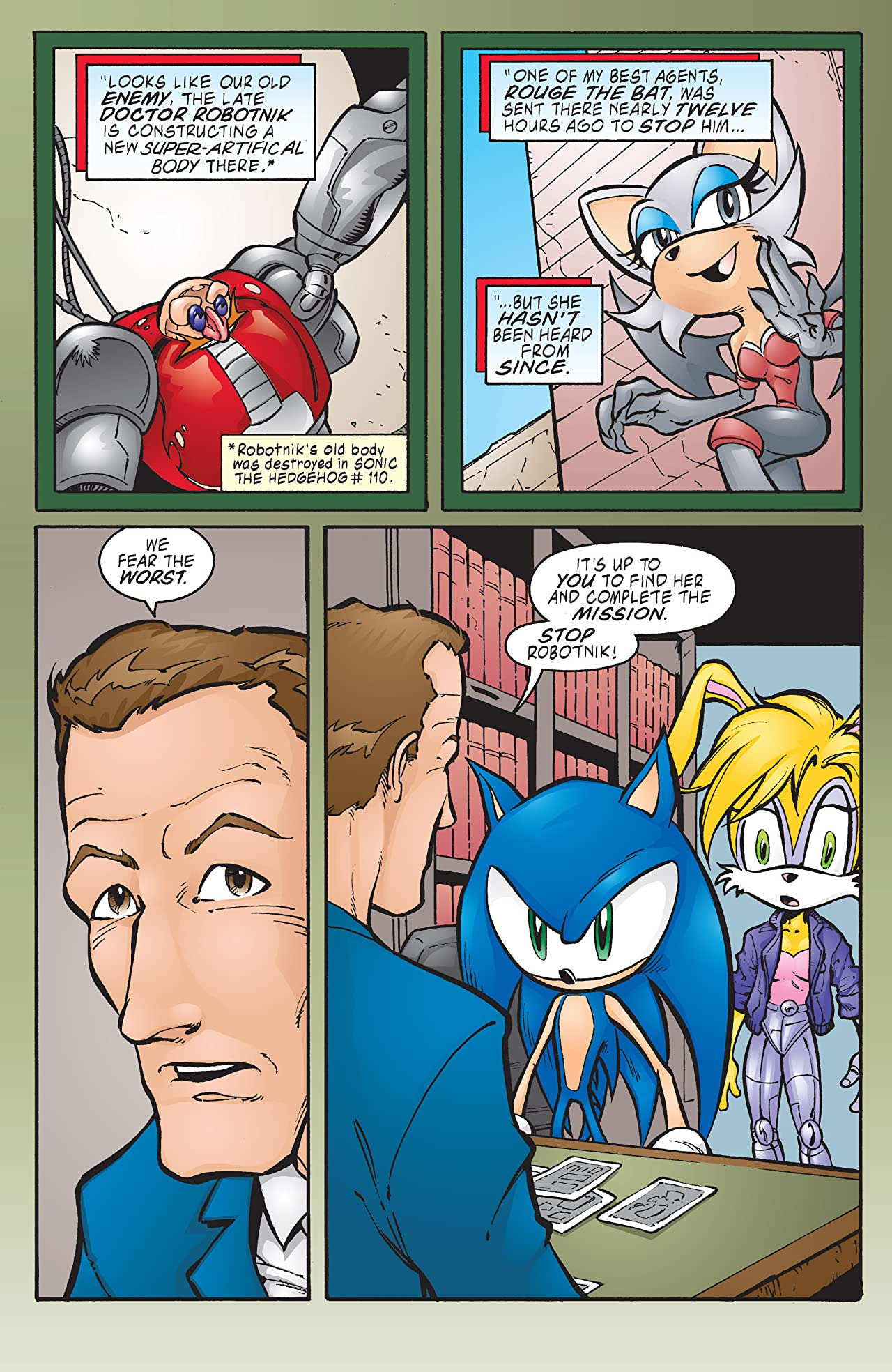 Sonic the Hedgehog #116