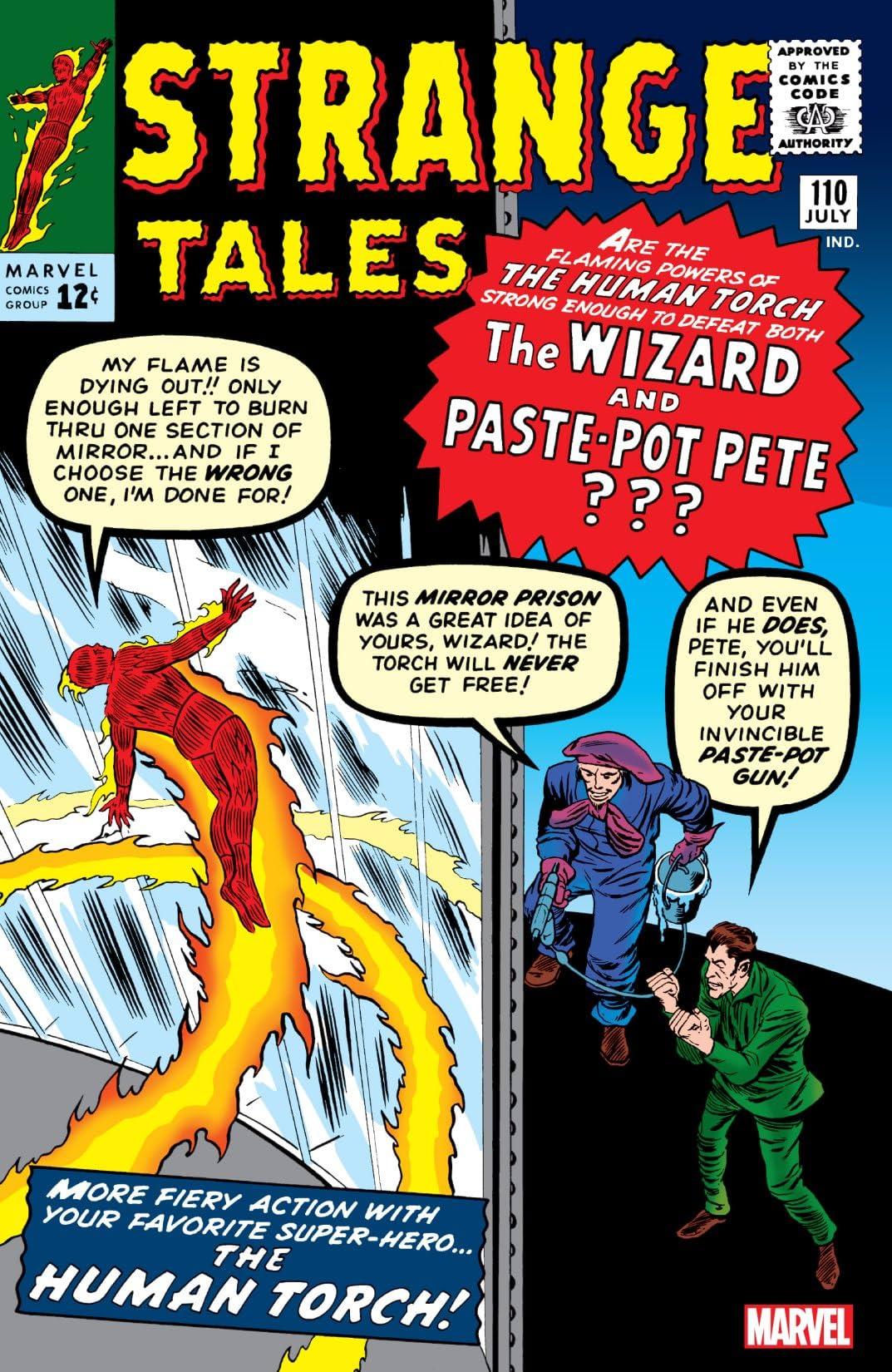 Strange Tales (1951-1968) #110