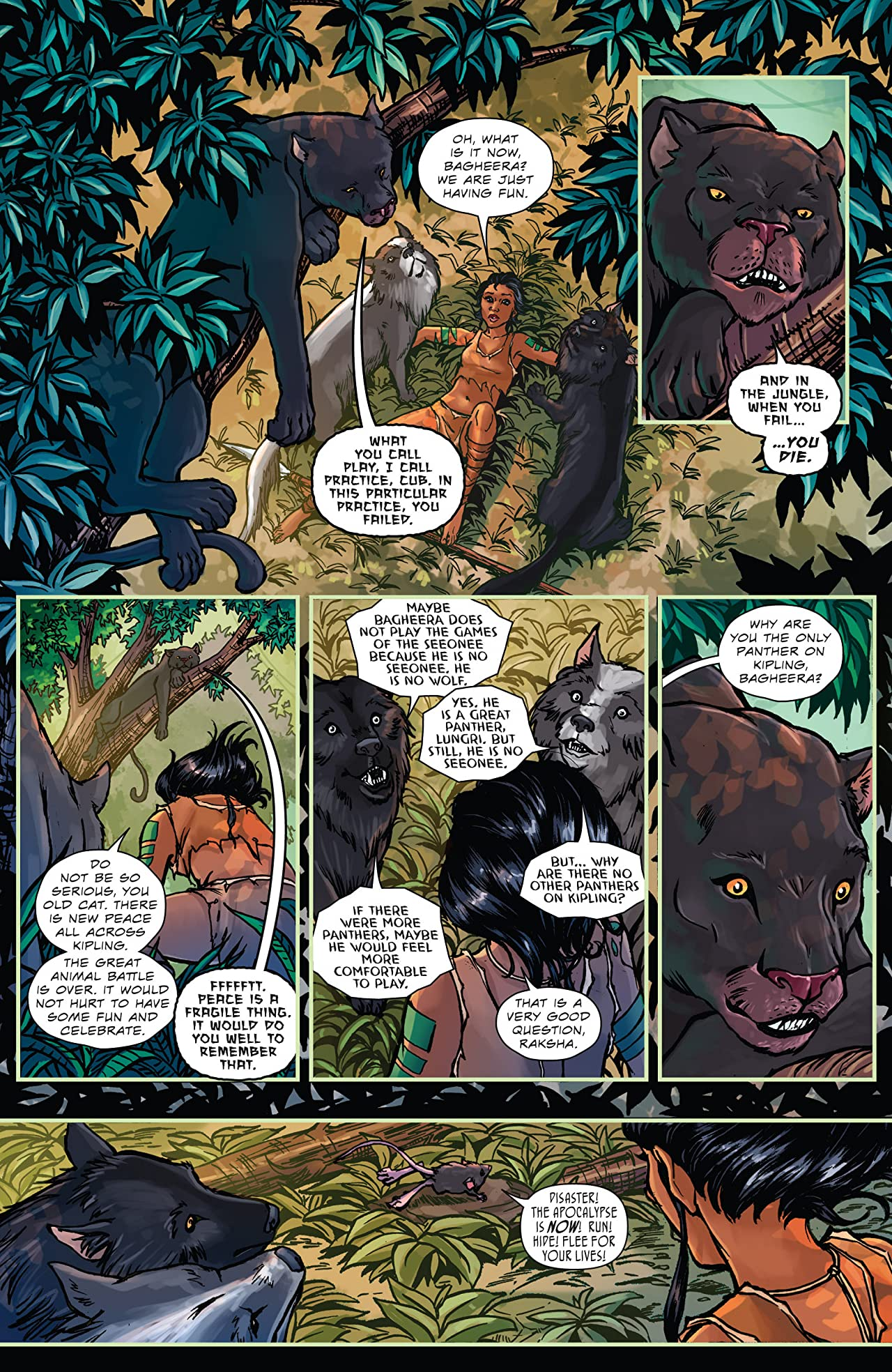The Jungle Book 2016 Holiday Special #1
