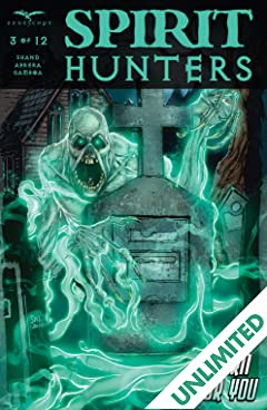 Spirit Hunters #3 (of 12)