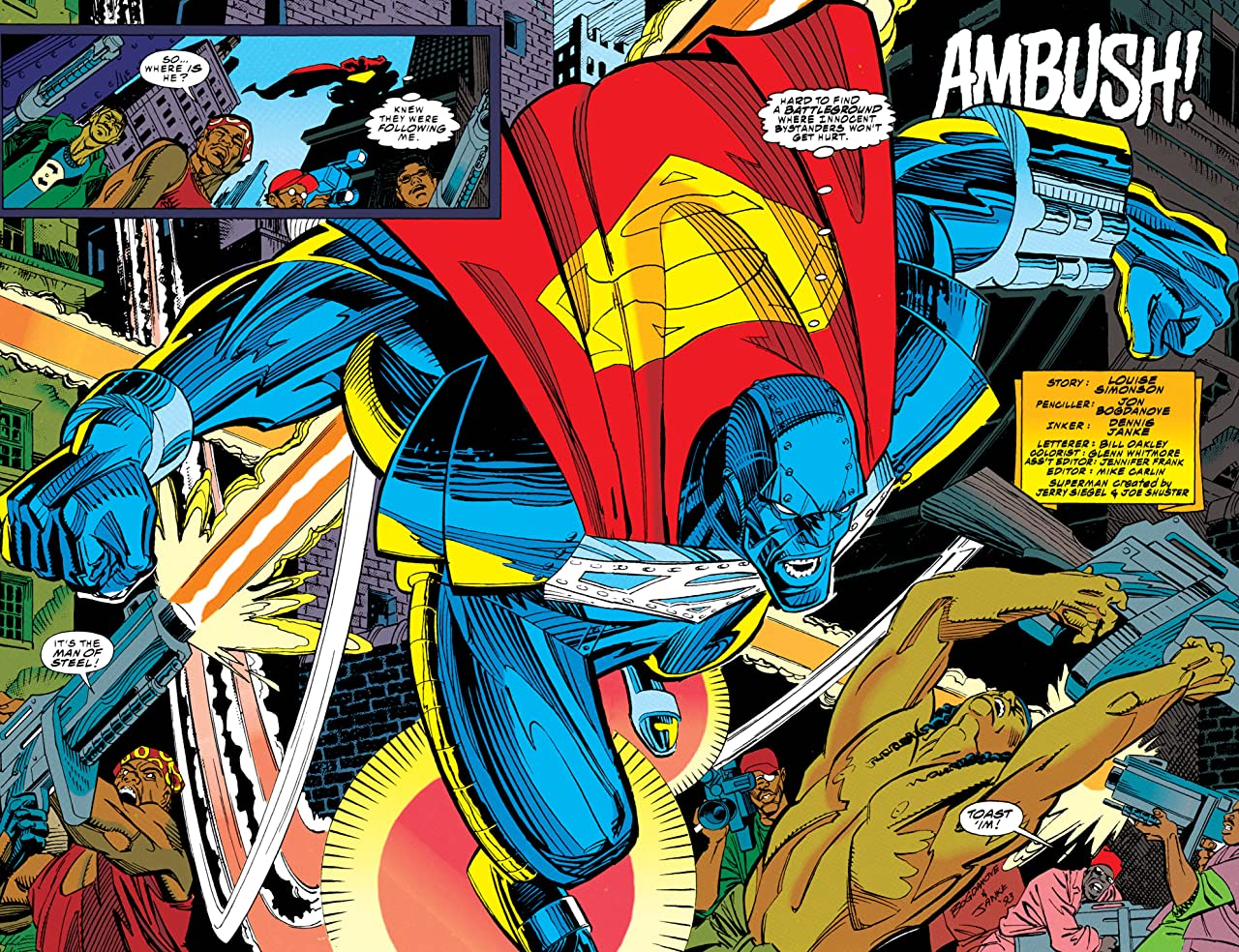 Superman: The Man of Steel (1991-2003) #23