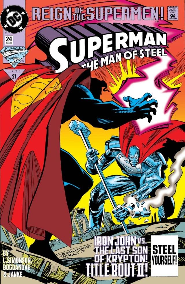 Superman: The Man of Steel (1991-2003) #24