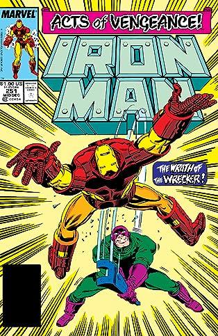 Iron Man (1968-1996) #251