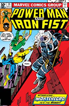 Power Man and Iron Fist (1978-1986) #71