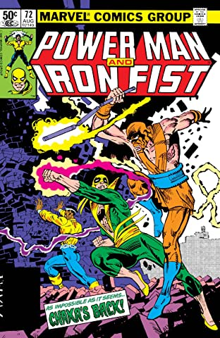 Power Man and Iron Fist (1978-1986) No.72