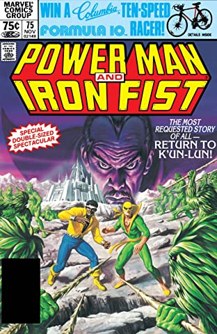 Power Man and Iron Fist (1978-1986) No.75