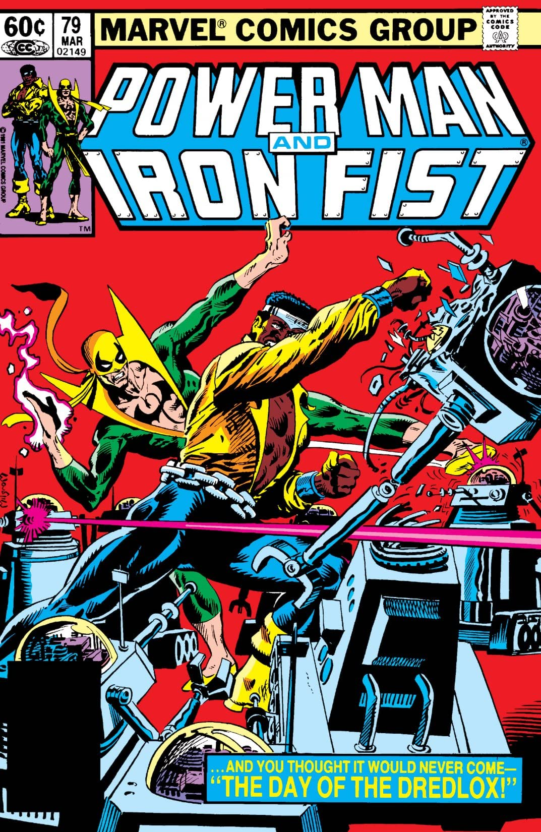 Power Man and Iron Fist (1978-1986) #79