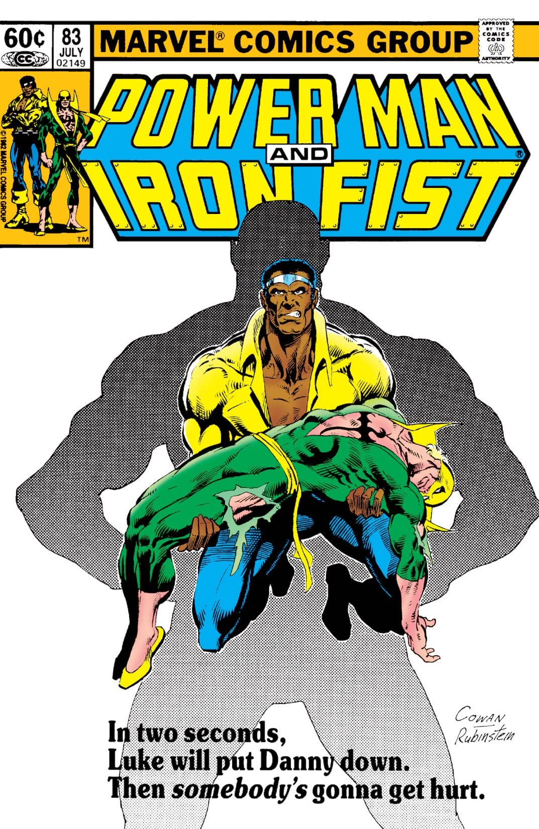 Power Man and Iron Fist (1978-1986) #83