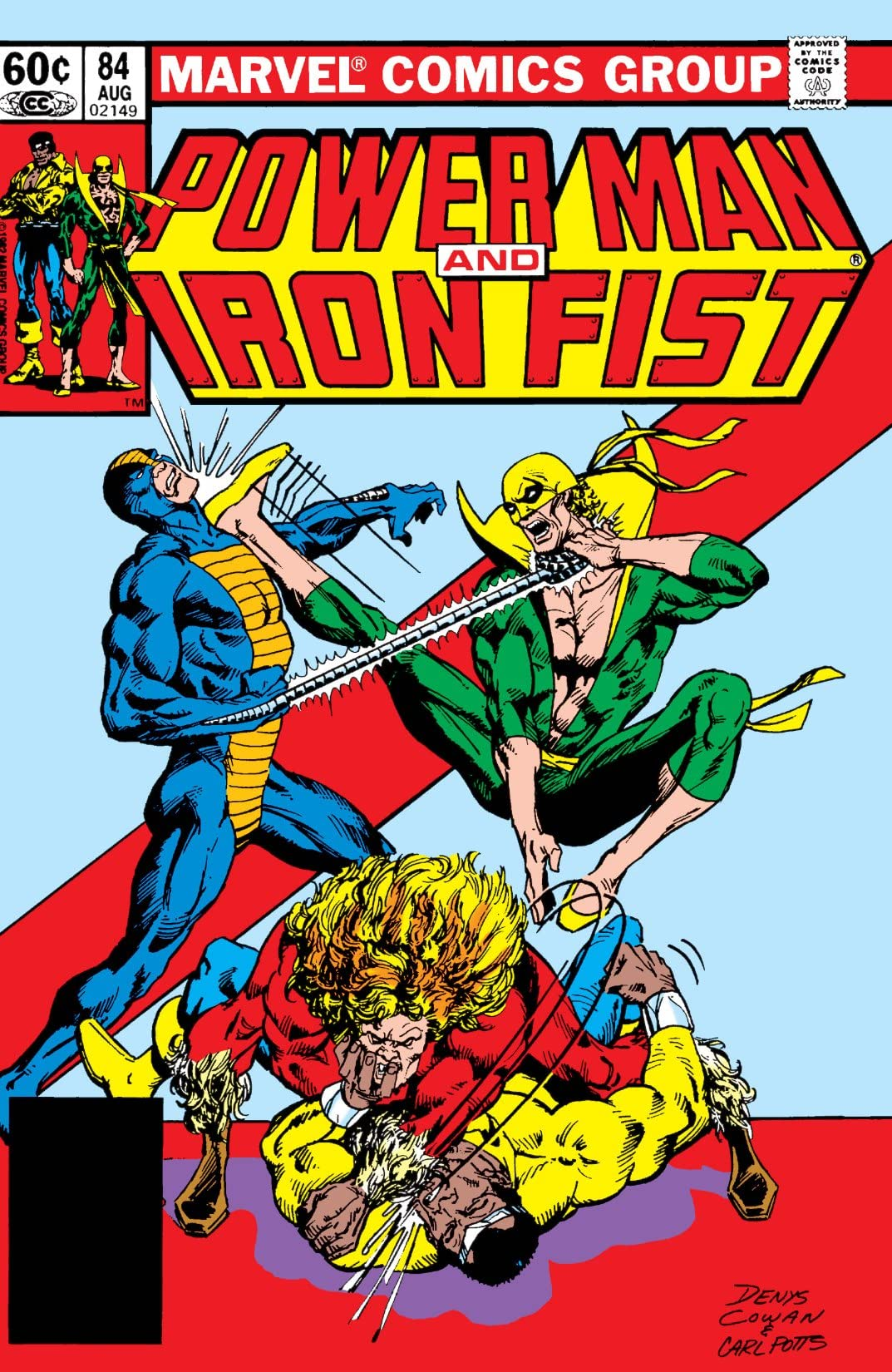 Power Man and Iron Fist (1978-1986) #84