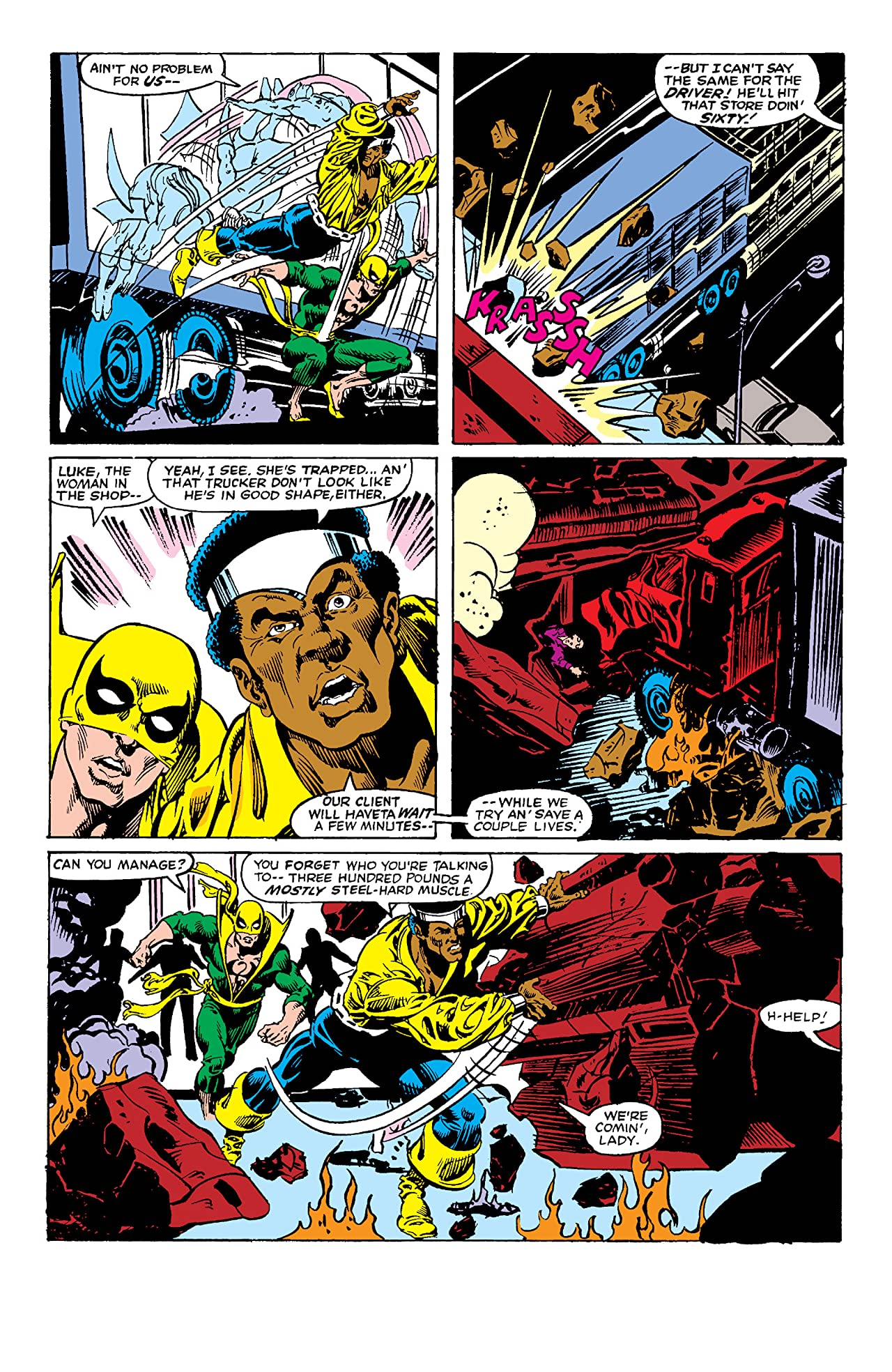 Power Man and Iron Fist (1978-1986) #85