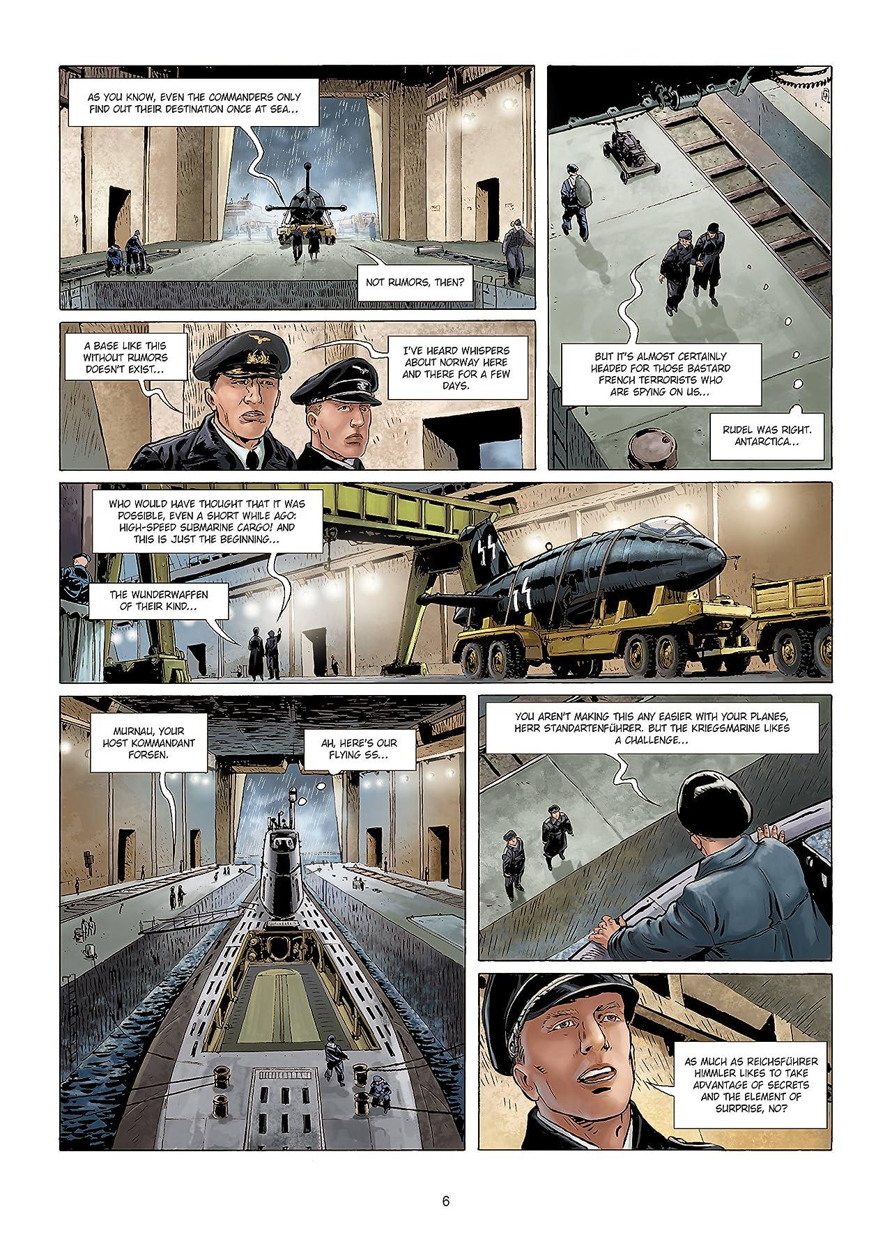 Wunderwaffen Vol. 6: The Ghost of Antarctica