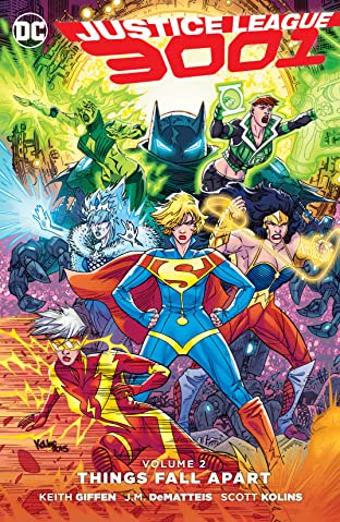 Justice League 3001 (2015-2016) Tome 2