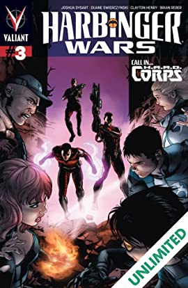 Harbinger Wars #3 (of 4): Digital Exclusives Edition