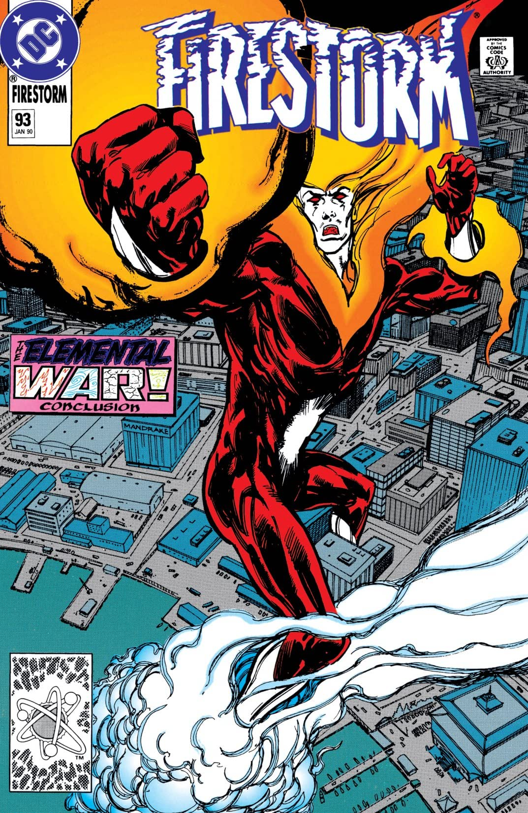 Firestorm: The Nuclear Man (1982-1990) #93