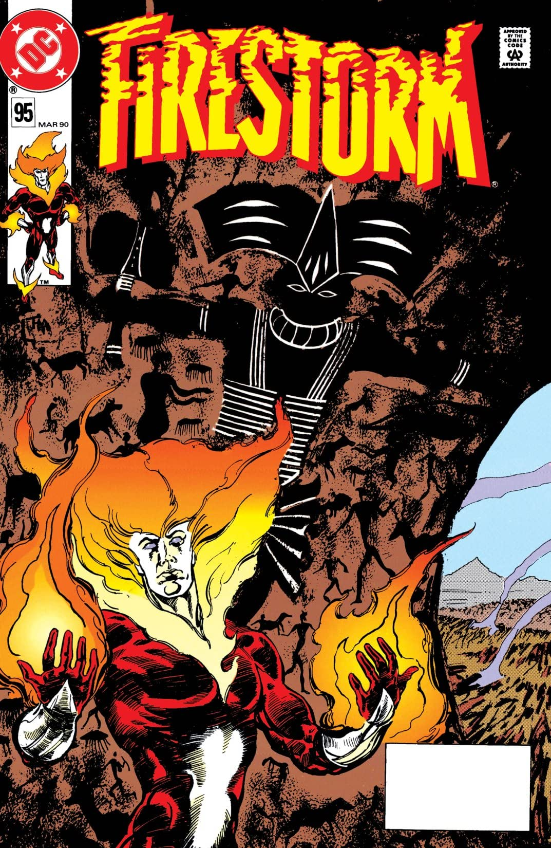 Firestorm: The Nuclear Man (1982-1990) #95