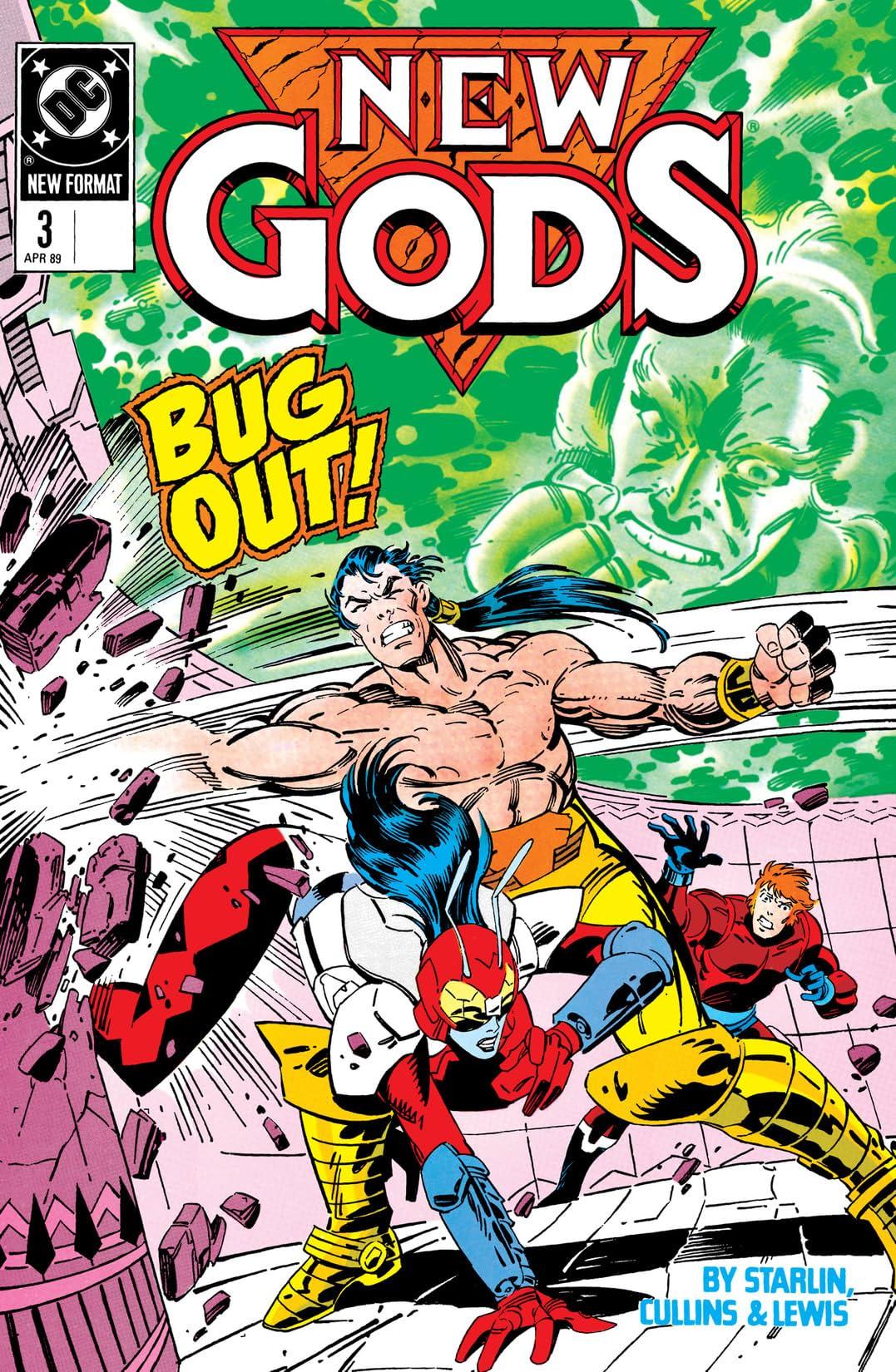 New Gods (1989-1991) #3