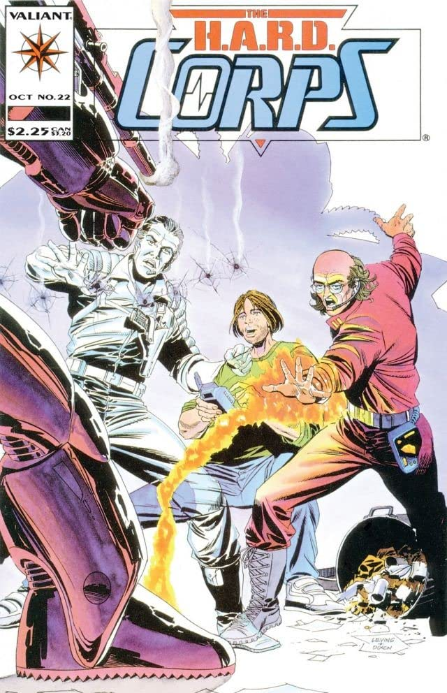 H.A.R.D. Corps (1992-1995) #22