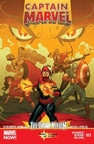 Captain Marvel (2012-2013) #13