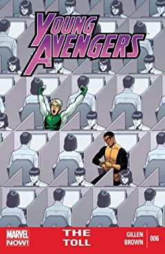 Young Avengers (2013) No.6