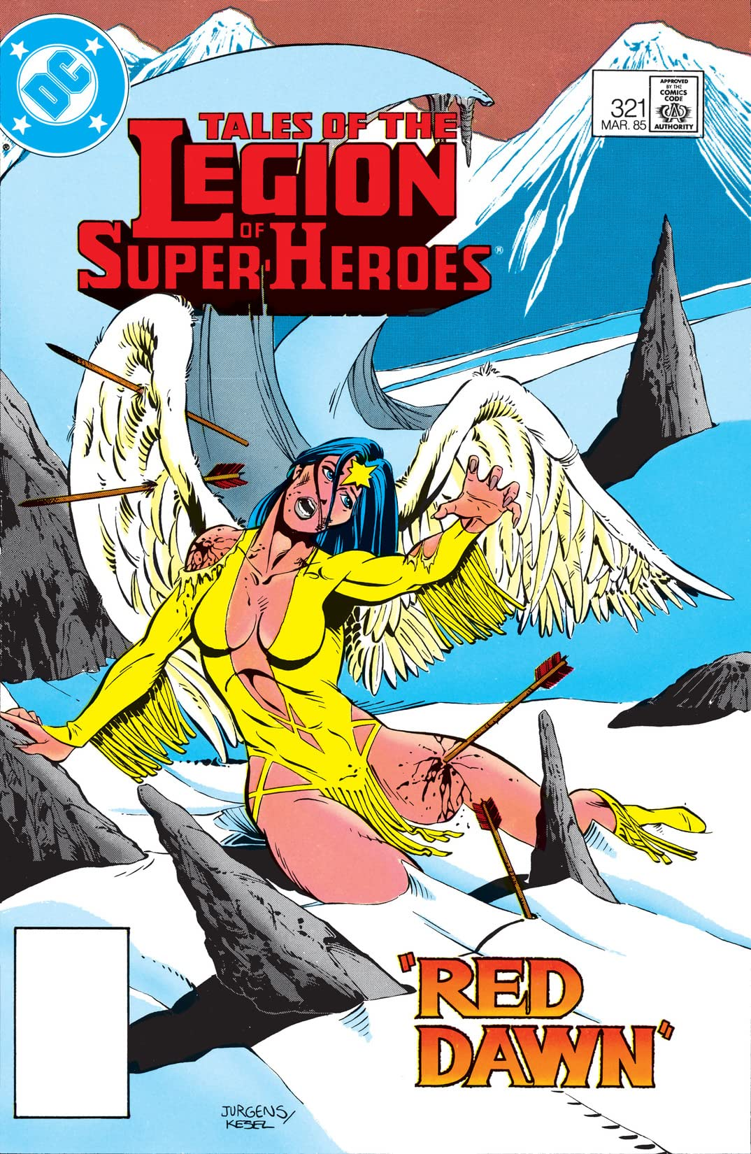 Tales of the Legion of Super-Heroes (1984-1989) #321