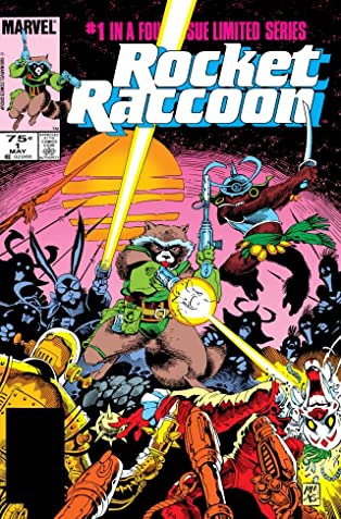 Rocket Raccoon #1 (of 4)