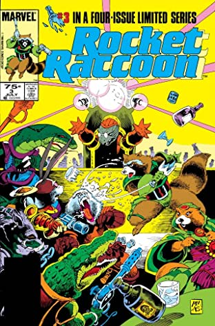 Rocket Raccoon #3 (of 4)