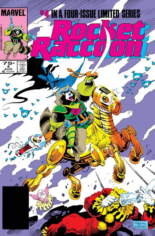 Rocket Raccoon #4 (of 4)