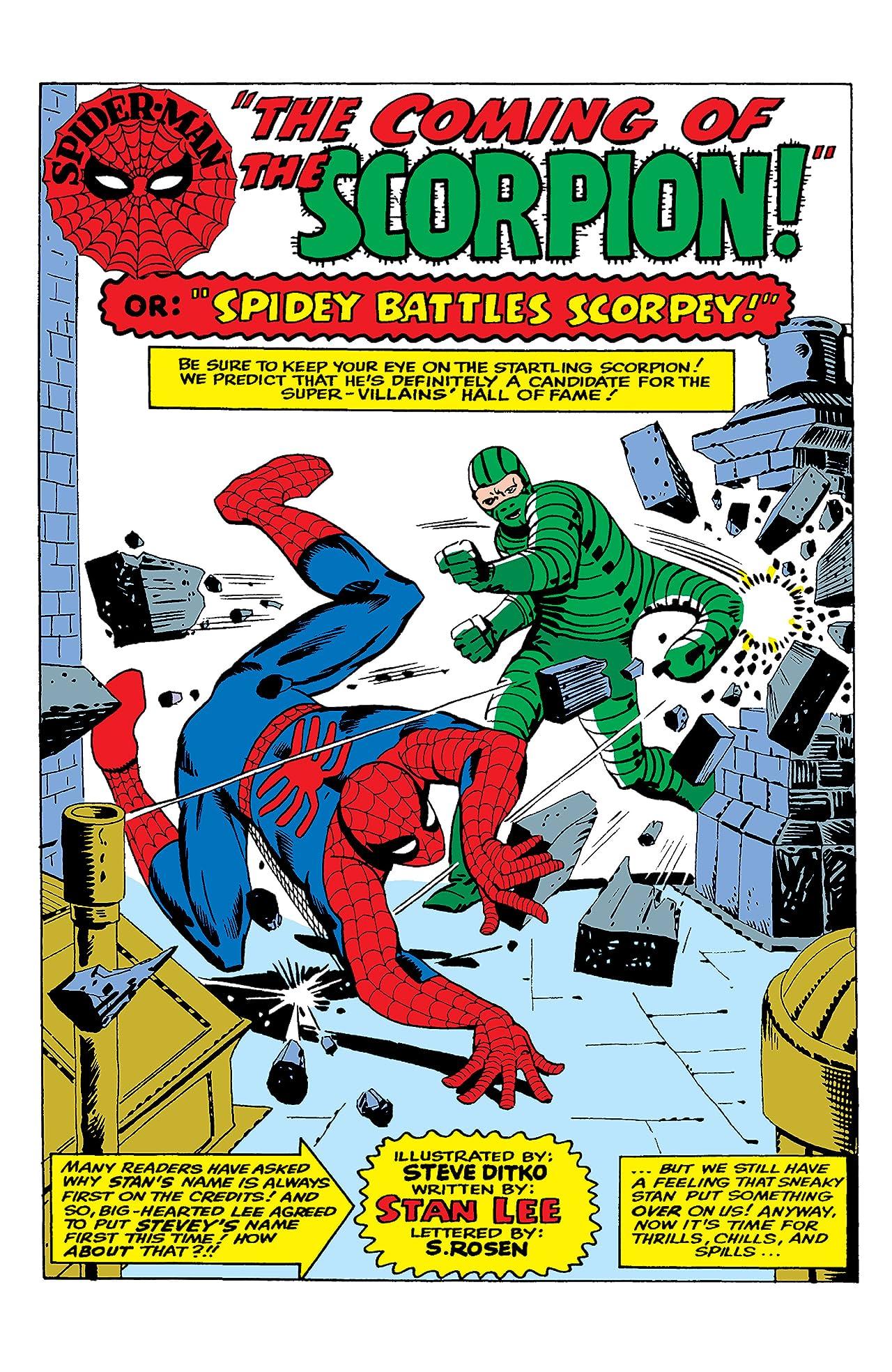 Amazing Spider-Man Masterworks Tome 3