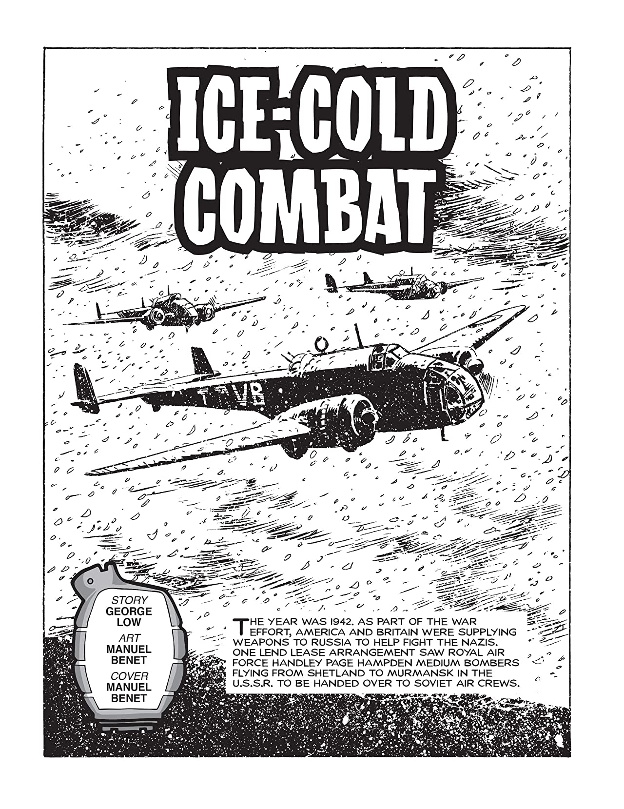 Commando #4943: Ice-Cold Combat