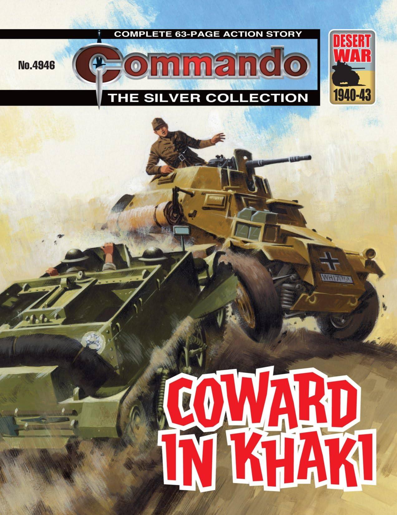 Commando #4946: Coward In Khaki