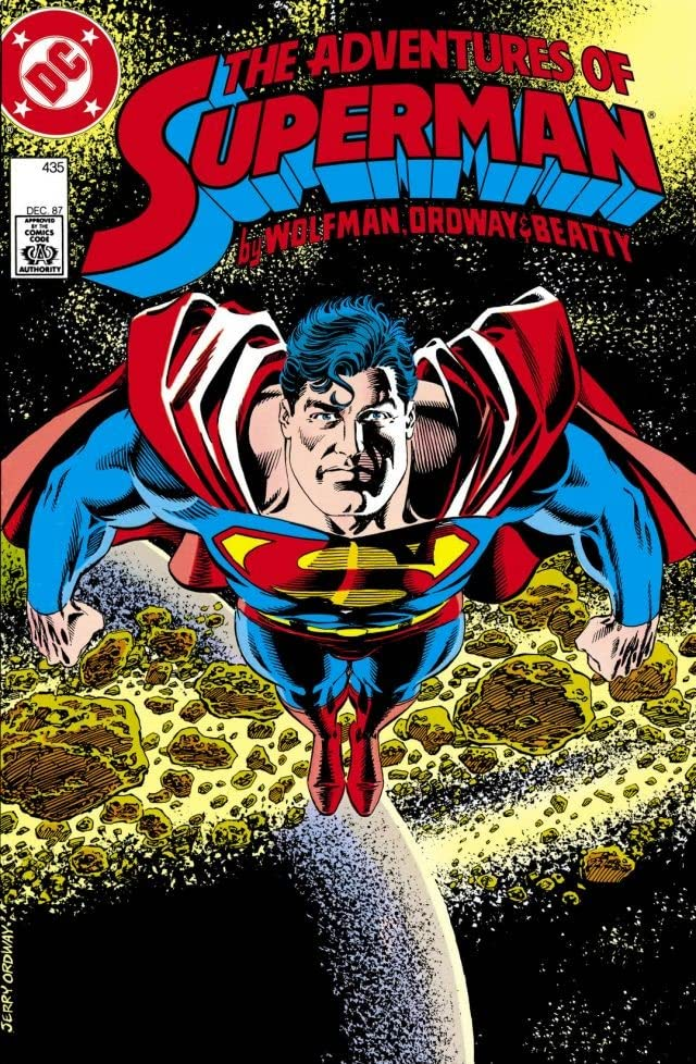Adventures of Superman (1986-2006) #435