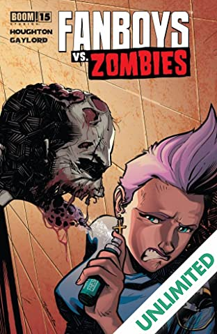 Fanboys vs. Zombies #15