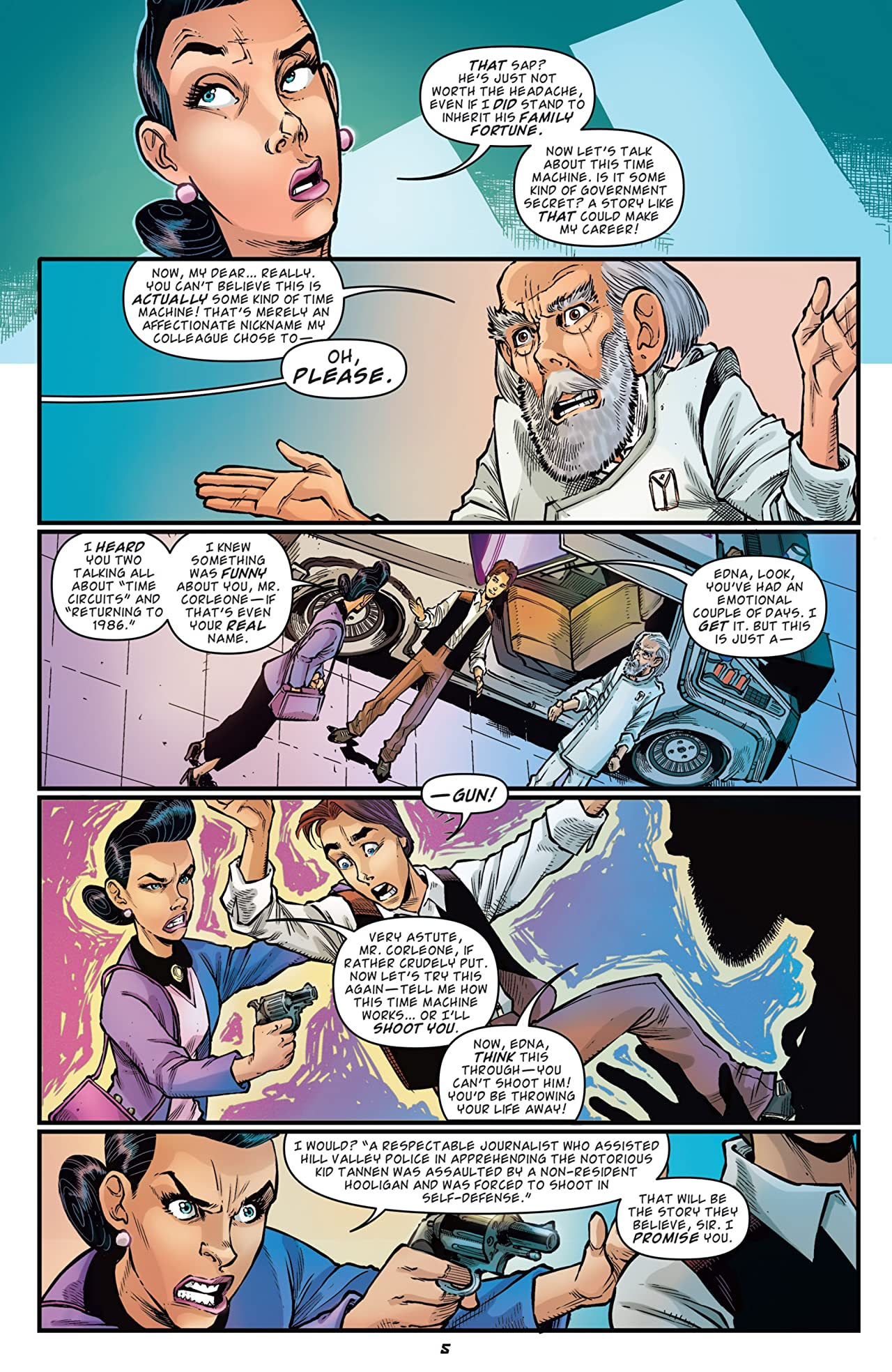 Back To The Future: Citizen Brown #5 (of 5)
