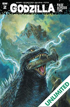Godzilla: Rage Across Time #2 (of 5)