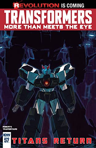 Transformers: More Than Meets the Eye (2011-) #57