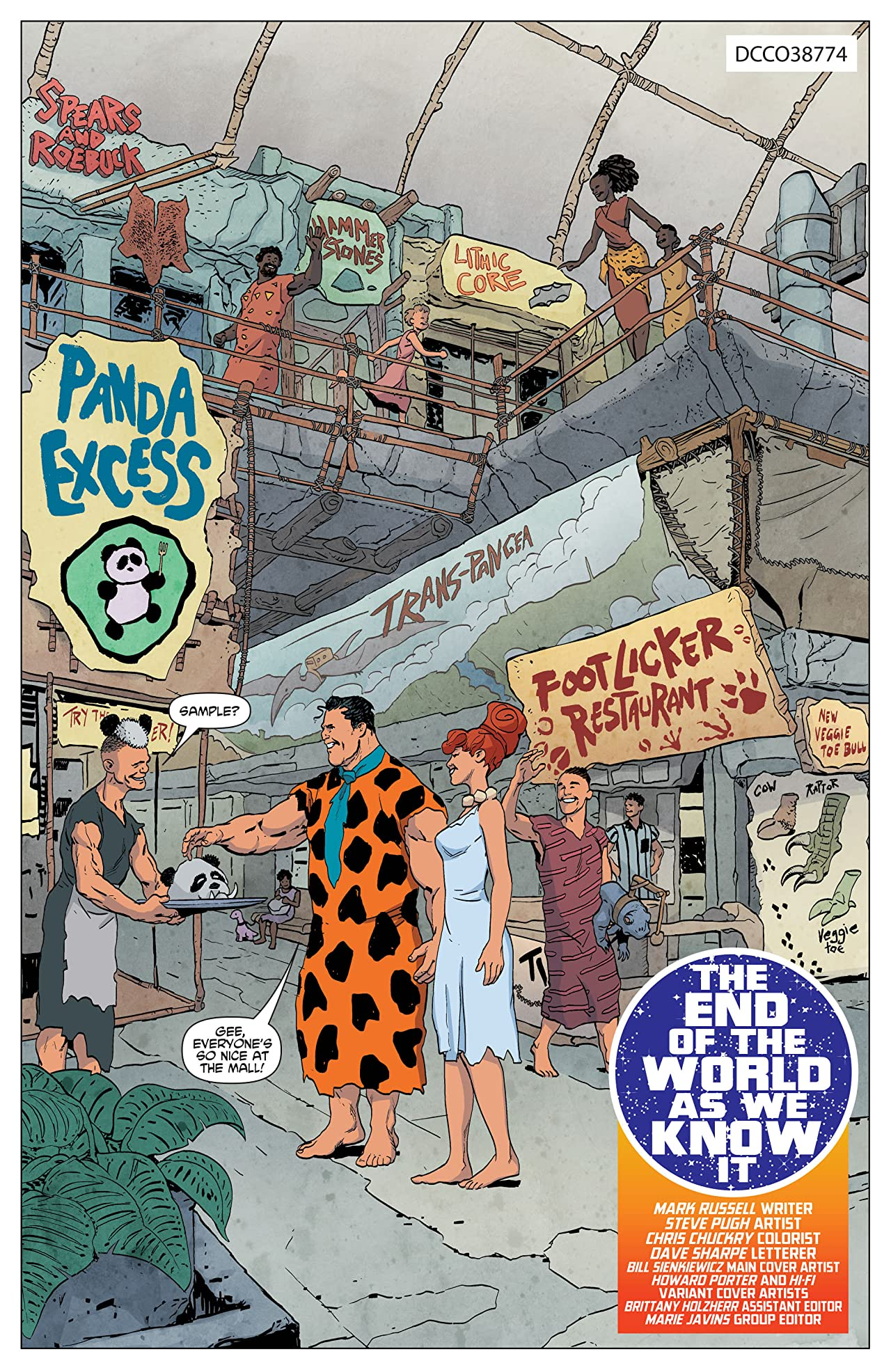 The Flintstones (2016-) #6