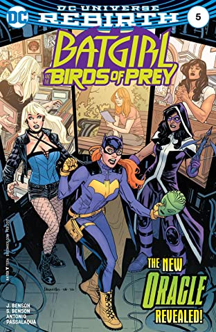 Batgirl and the Birds of Prey (2016-2018) No.5