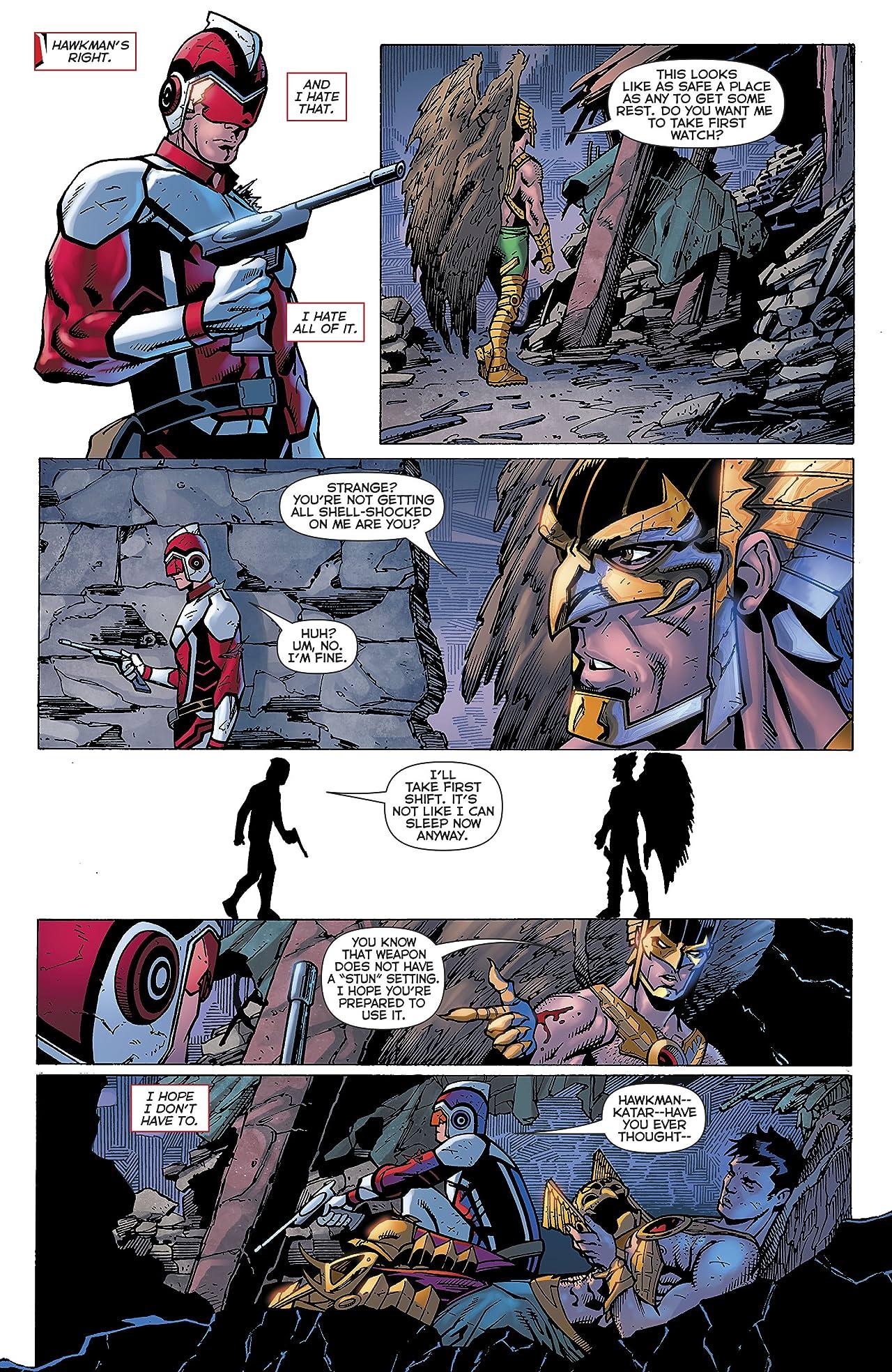 Death of Hawkman (2016-2017) #3