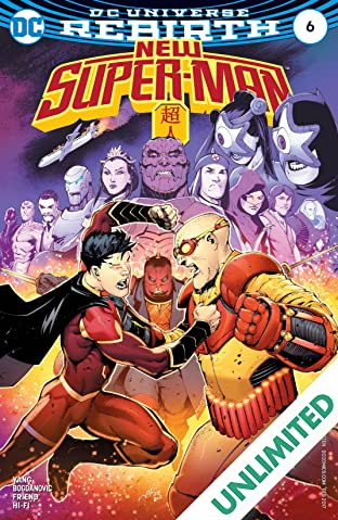 New Super-Man (2016-2018) #6
