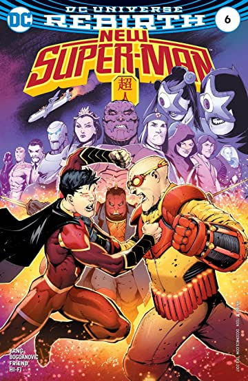 New Super-Man (2016-) #6